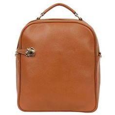Modern Leather Backpacks for Women Handle Style Backpack 11 Colors at doozybag.com