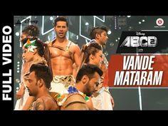 Vande Mataram Full Video   Disney's ABCD 2   Varun Dhawan & Shraddha Kapoor - YouTube Desi Music, Bollywood Music Videos, Film Song, Song Hindi, Positive Comments, Indian Music, Genius Quotes, Romantic Songs Video, Varun Dhawan