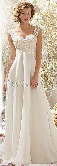 Casual chiffon Wedding Dresses #Casual_Wedding_Dresses #Wedding_Dresses #Casual_Wedding_Dresses_Ideas