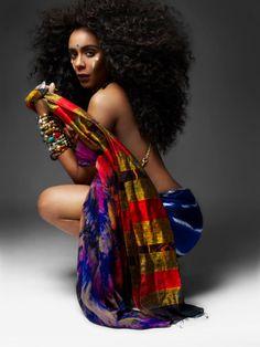 Chic Strands: Hadiiya Barbel the Queen of Crowns #chicrebellion #chicstrands #curlyhair