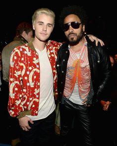 Pin for Later: Ce Défilé de Mode a Presque Réuni Plus de Célébrités Que les Golden Globes Lenny Kravitz et Justin Bieber