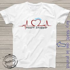 Valentines Day shirts for kids funny life line heart by StoykoTs