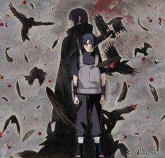 The hero in the shadow Itachi Uchiha, Naruto Shippuden Sasuke, Naruto Oc, Anime Naruto, Anime Guys, Boruto, Akatsuki, Amaterasu, Black Panther Art