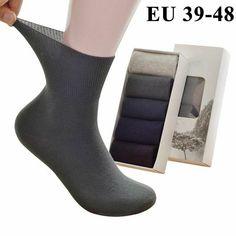 Anti Bacterial Socks Brown Olive Mix 6-11 3 Pairs Mens Bamboo Loose Top Socks