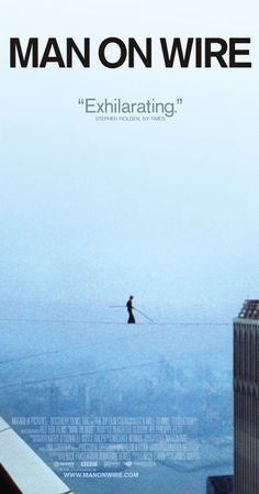 "Directed by James Marsh.  With Philippe Petit, Jean François Heckel, Jean-Louis Blondeau, Annie Allix. A look at tightrope walker Philippe Petit's daring, but illegal, high-wire routine performed between New York City's World Trade Center's twin towers in 1974, what some consider, ""the artistic crime of the century."""