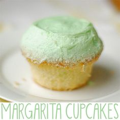 Margarita cupcakes - yum!