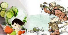 3 przepisy na wodę oczyszczającą wątrobę – zdrowa wątroba gwarancją niskiego poziomu tkanki tłuszczowej Health, Anime, Chopsticks, Diet, Health Care, Cartoon Movies, Anime Music, Healthy, Anime Shows