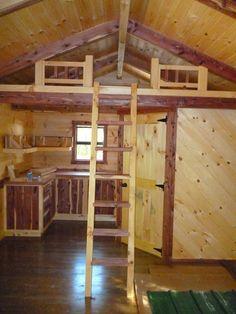 14x28 Modular Amish Cabin Move In Ready True Four Seasons