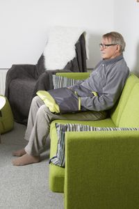 Bilde av Knetepp KneedMe V Lime Recliner, Lime, Lounge, Chair, Furniture, Home Decor, Muscle, Pictures, Airport Lounge