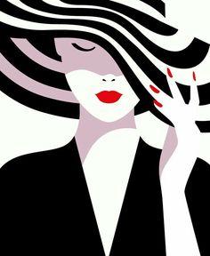 Illustration by Malika Favre