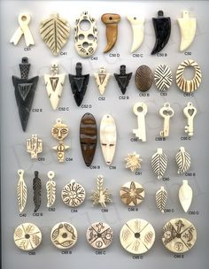 Bone Charms 35.jpg (1271×1641) More