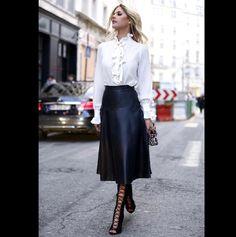 lala rudge no paris fashion week