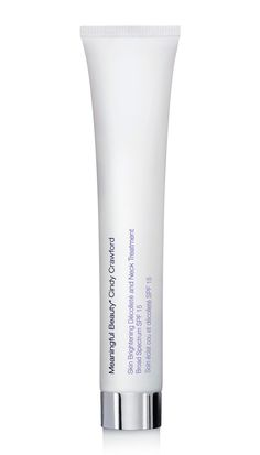 Meaningful Beauty Skin Brightening Décolleté and Neck Treatment Broad Spectrum SPF 15