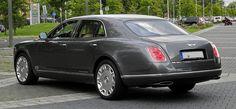 Bentley Mulsanne – Heckansicht (1), 10. August 2011, Düsseldorf - Bentley Mulsanne (2010) - Wikipedia