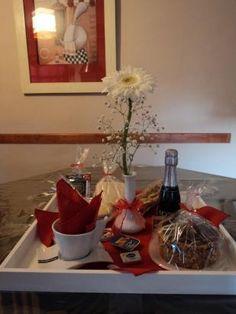 Desayuno sorpresa ilDiletto Premium tablas brindis regalos