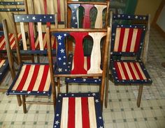Where can I find old wooden folding chairs???