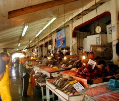 Ensenada Fish Market,  What a great place to get fish,  It has been years since I've been there.