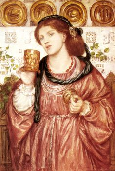 THE LOVING CUP, BY DANTE GABRIEL ROSSETTI