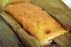 Pasteles de Yucca -- This is very time consuming and normally served on special occasion or holidays in spanish countries.  I normally purchase them from someone who makes them.