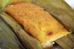 Pasteles de Yucca from Puerto Rico. Puerto Rican Dishes, Puerto Rican Cuisine, Puerto Rican Recipes, Cuban Recipes, Spanish Recipes, Pasteles Puerto Rico Recipe, Pasteles Recipe, Yummy Recipes, Recipies