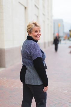 Casual Friday inspiration...#Nordstrom #Cashmere #Colorblock Sweater Cindy in the City | a fashion lifestyles blog for the mature woman