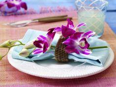Exotic table decor