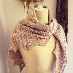 Suisse Shawl Knitting Pattern – Phydeaux Designs & Fiber