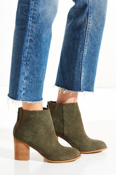 Short Suede Boot