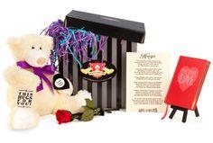 Enter our contest to win an Ipad mini https://www.facebook.com/TheSeriousTeddyBear/app_181492755297047 Anniversary Teddy Bear Gift Basket - The Serious Teddy Bear Company
