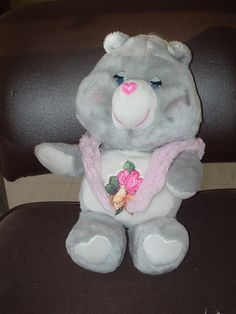 I still have my Grams Care Bear and about 8 more CB's in the garage. I think there were twin baby Care Bears that went with her - or maybe I just pretended that they went with her.
