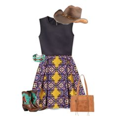 rodeo here i come by bebejump on Polyvore featuring polyvore, fashion and style