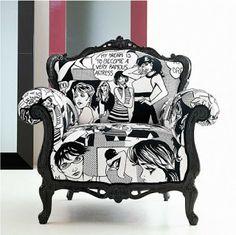 comics chair