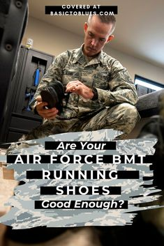 Air Force BMT Packing : Are your running shoes good enough to take to BMT? They might not last an Air Force workout. So add this to your basic training prep tips list to better prepare and know before you go. Military Workout, Military Training, Army Workout, Air Force Basic Training, Running Training, Military Women, Military Life, Military Hair, Air Force Women