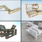 Guide pour construire un siège double utilisant des palettes 1