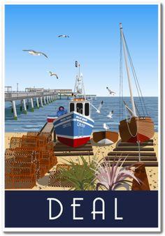 Deal Seafront, Kent | whiteonesugar.co.uk
