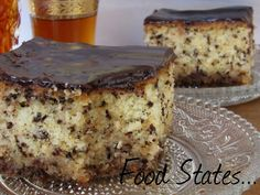 Food States: Μυργηγκωτό με σοκολάτα Greek Desserts, Greek Recipes, Cookbook Recipes, Dessert Recipes, Cooking Recipes, Appetisers, Confectionery, Cooking Time, Chocolate Cake