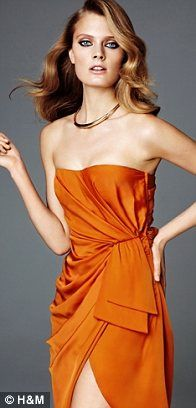 H&M Conscious....orange is the new neutral