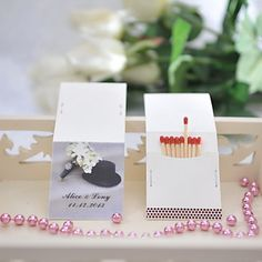 Awesome Personalized match boxes favors, Wedding Favors, Books, Matches, Sparklers, Products, Receptions, Gifts, Bridal Shower, Baby Shower, Paper, DIY, Crafts, Collection, Vintage, Valentine, Printables, Custom
