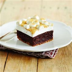 Fudgy S'mores Browni