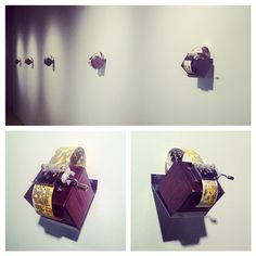 Artwork from Front & Center Exhibit at Hyde Park Art Center