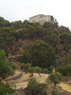 Vista desde el Santuario de la Fuensanta