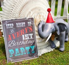 Vintage Circus Party ideas {Made by a Princess Parties in Style}