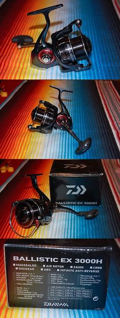 Spinning Reels 36147: New Daiwa Ballistic Ex3000h Spinning Reel Mint Magsealed Air Rotor Abs -> BUY IT NOW ONLY: $137.95 on eBay!