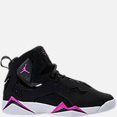0a00ddf813b319 Girls  Grade School Jordan True Flight (3.5y-9.5y) Basketball Shoes