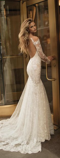 Wonderful Perfect Wedding Dress For The Bride Ideas. Ineffable Perfect Wedding Dress For The Bride Ideas. Wedding Dress Trends, Sexy Wedding Dresses, Elegant Wedding Dress, Bridal Dresses, Lace Wedding, Wedding Ideas, Mermaid Wedding, Trendy Wedding, Backless Wedding