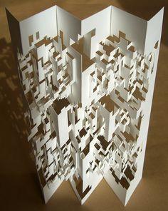 Faith is Torment | Art and Design Blog: Origami Art by Elod Beregszaszi