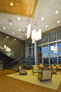 Barclay's / Wilmington - Reception Lounge Area. Design by Mitchell Associates.