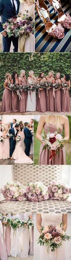 Wedding Color Inspiration For Mauve | Bows-N-Ties.com