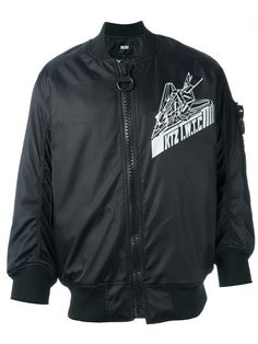KTZ Aeroplane Print Bomber Jacket. #ktz #cloth #jacket
