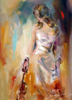 Anna Razumovskaya Holding The Violin painting is shipped worldwide,including stretched canvas and framed art.This Anna Razumovskaya Holding The Violin painting is available at custom size. Violin Painting, Woman Painting, Painting & Drawing, Art Triste, Anna Razumovskaya, Portrait Art, Paintings For Sale, Oil Paintings, Figurative Art